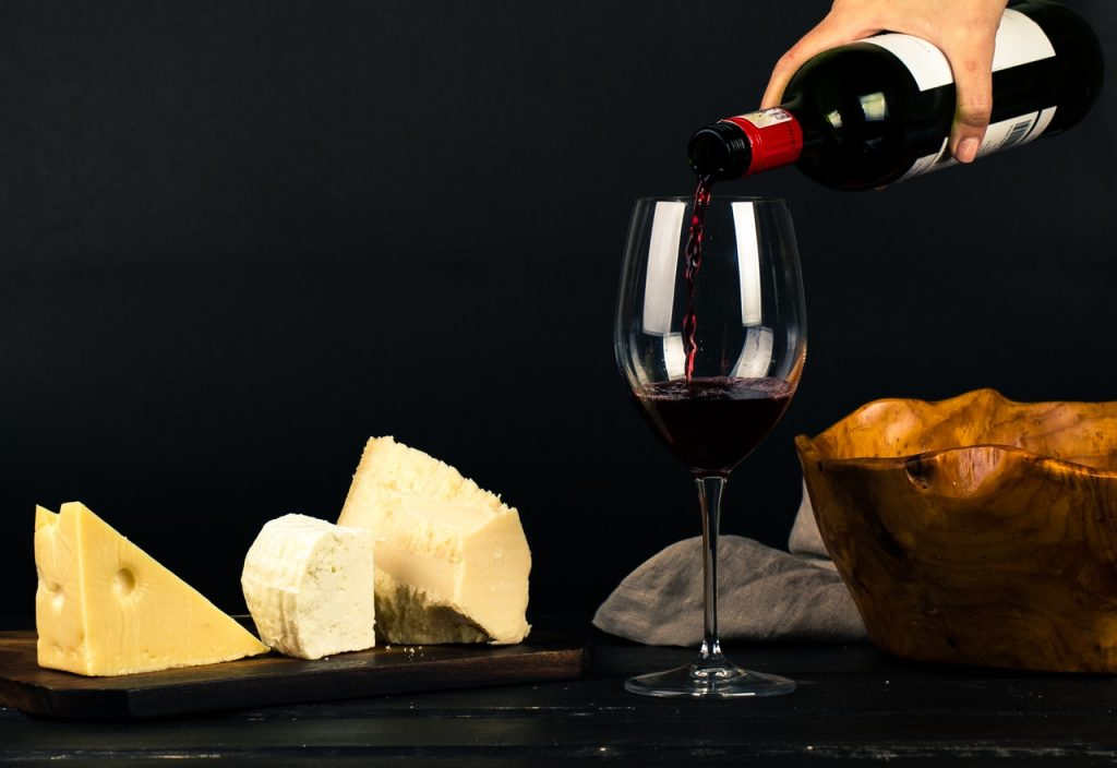 combinar queso vino maridaje